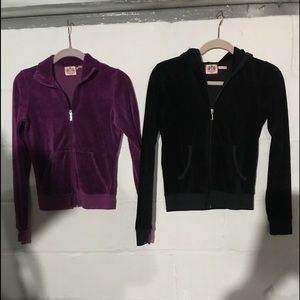 Juicy Couture Velour Jackets.